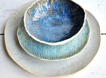 Plates. Bowls and Platters Four Ways